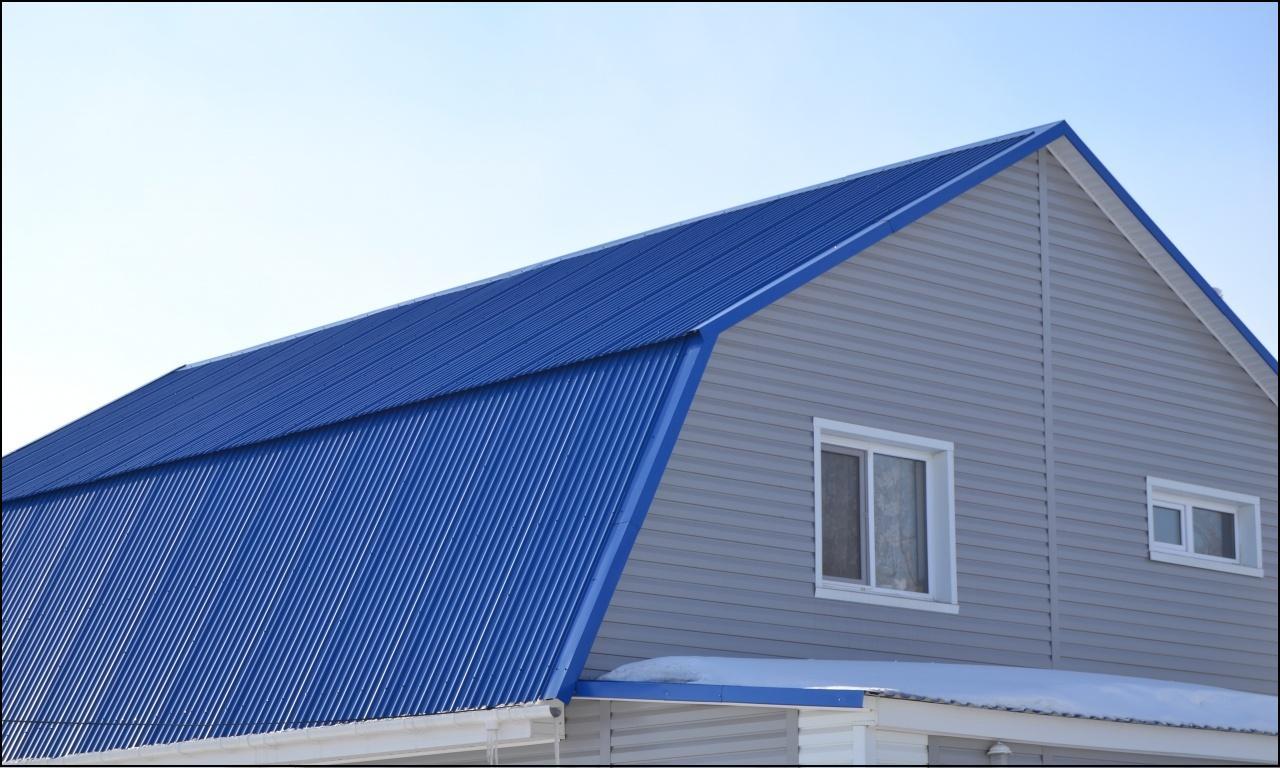 металлопрофиль для крыши цвета фото